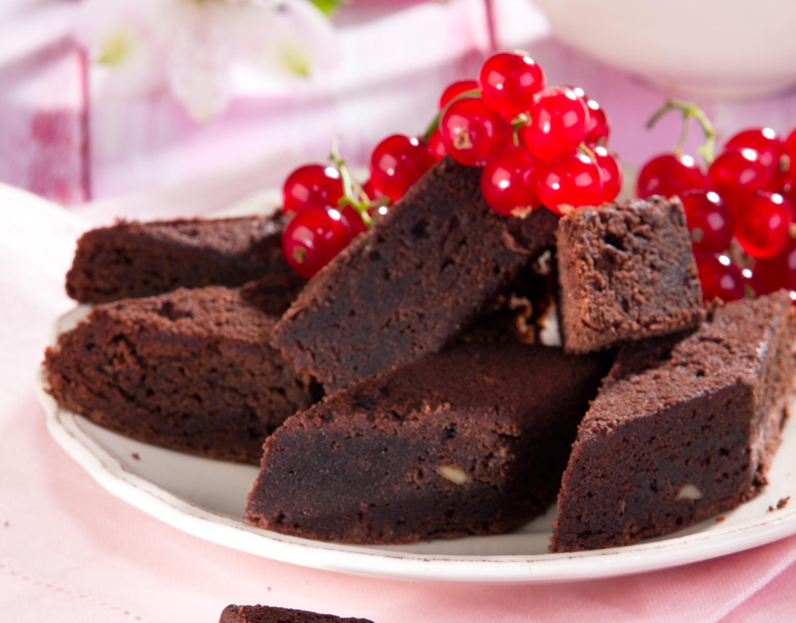 Шоколадный кекс без муки