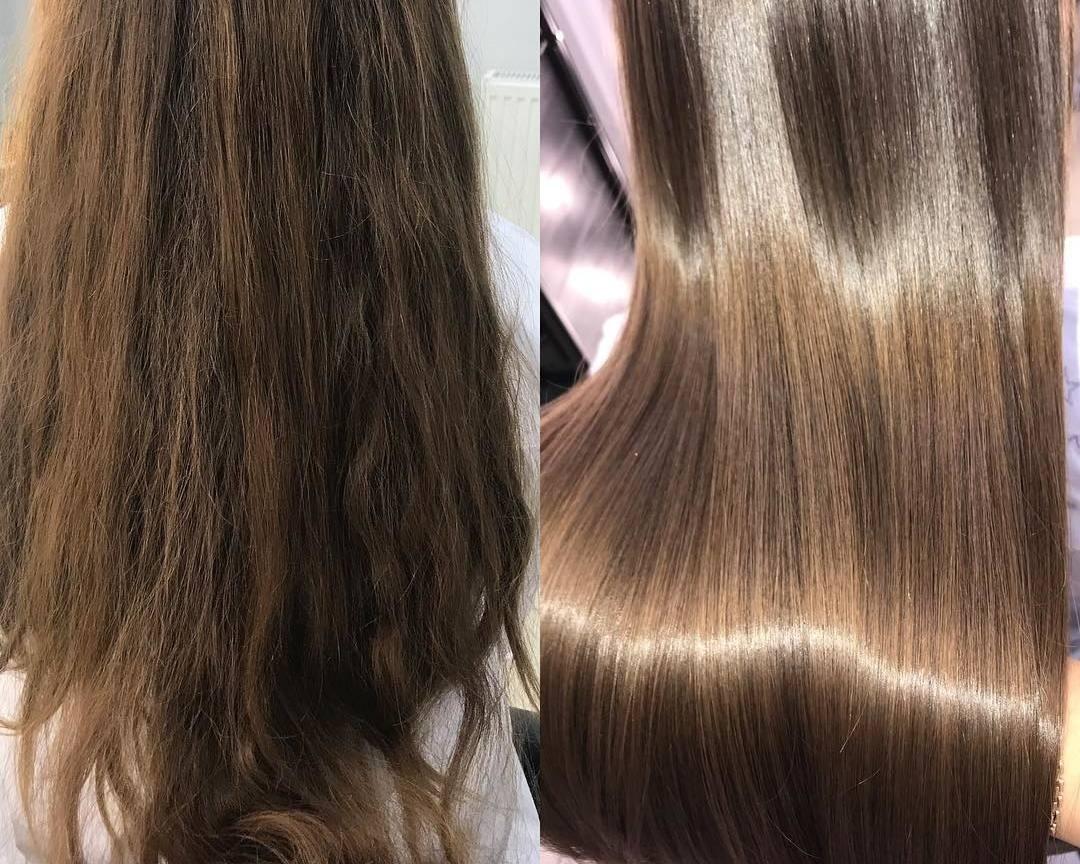 Ботокс – это восстановление иомоложение волос, защита отвоздействия ультрафиолетовых лучей, придание волосам естественного здорового блеска. Волосы восстанавливаются засчет аминокислот...