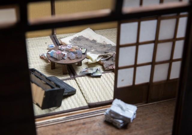 Японка создает миниатюры квартир, где умирают одинокие люди, и это невероятно жутко!