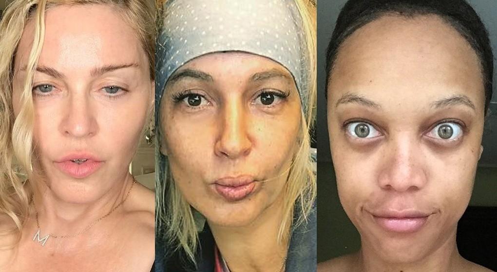 Звезды, которых мы не привыкли видеть без макияжа: 13 невероятных кадров