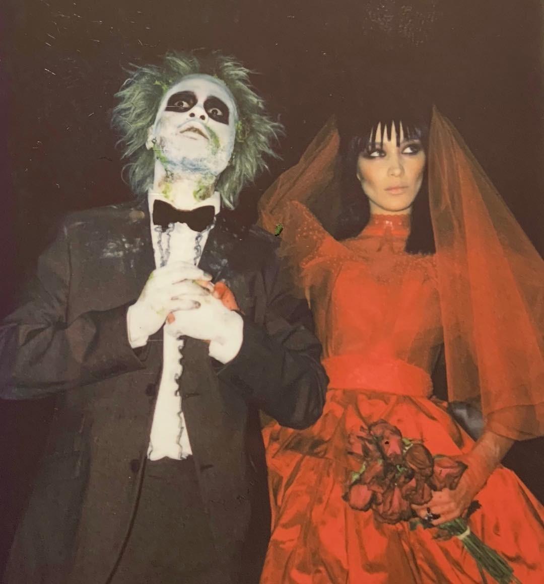 Битлджус и его супруга Лидия. Ни...