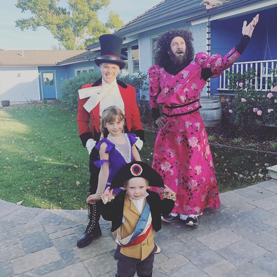 Пинк устроила веселую костюми&#...