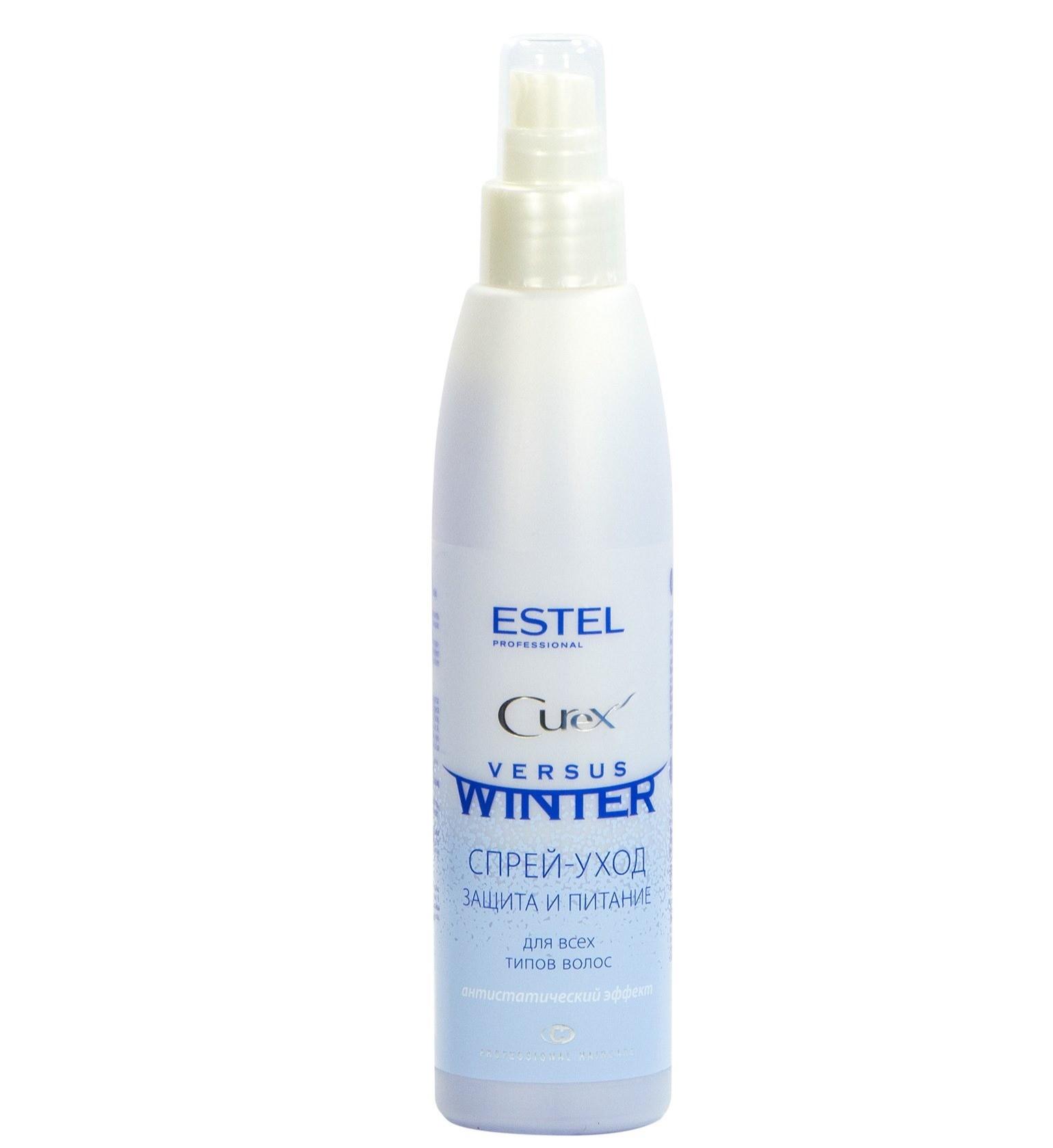 Спрей-уход «Защита и питание» Estel Curex Versus Winter