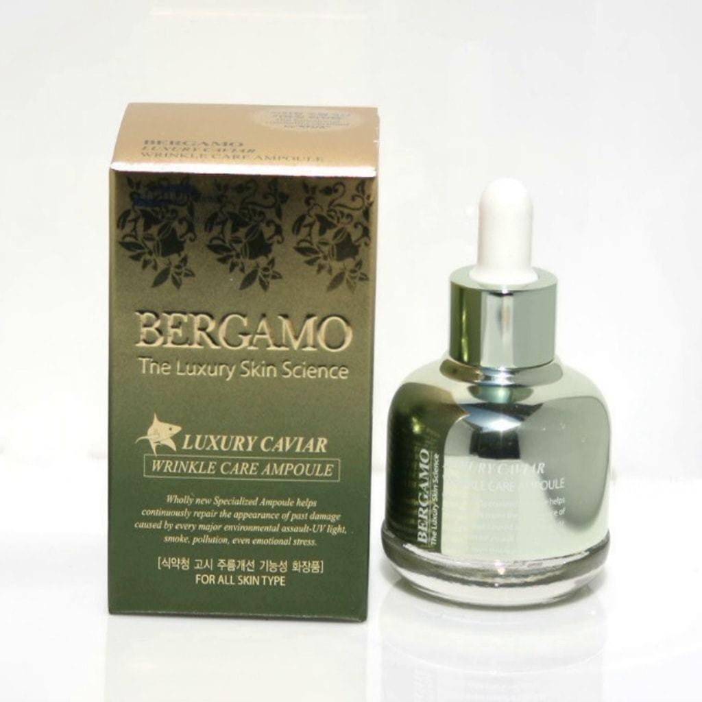 Сыворотка длялица Bergamo Luxury Caviar Wrinkle Care Ampoule