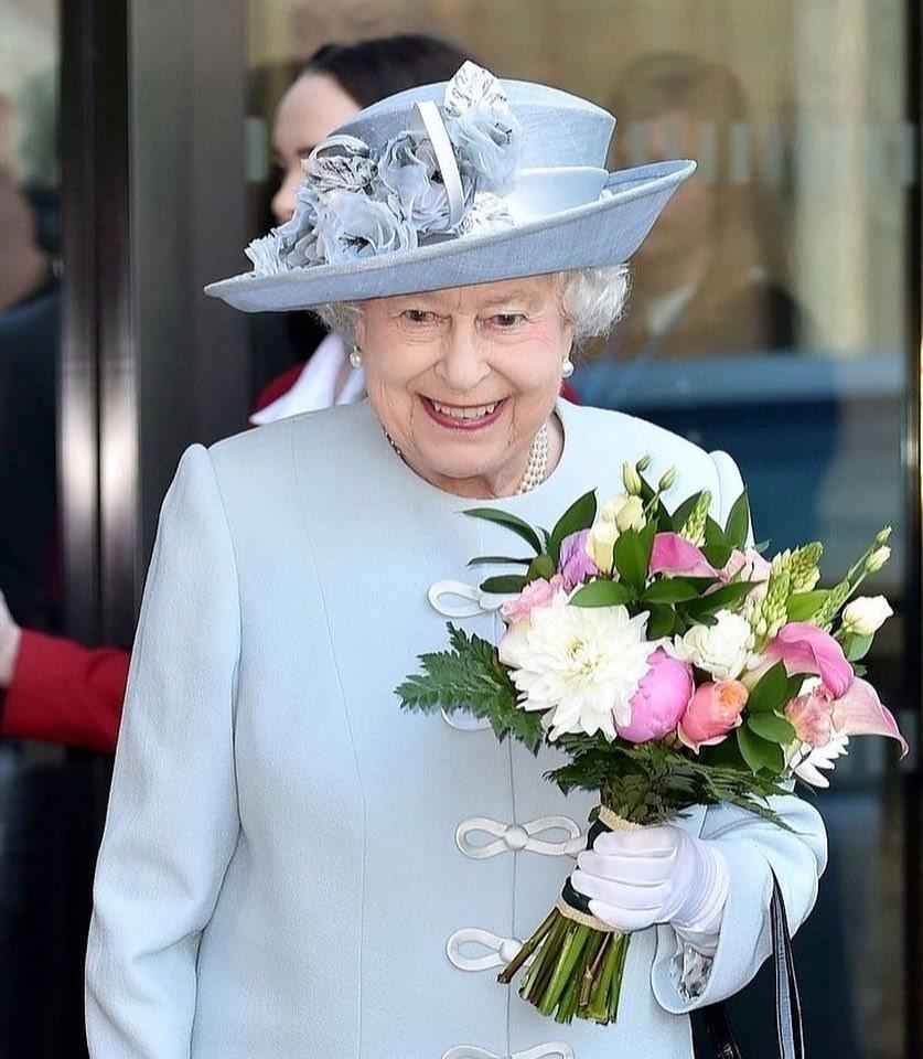 Если ты королева Великобритан&#...