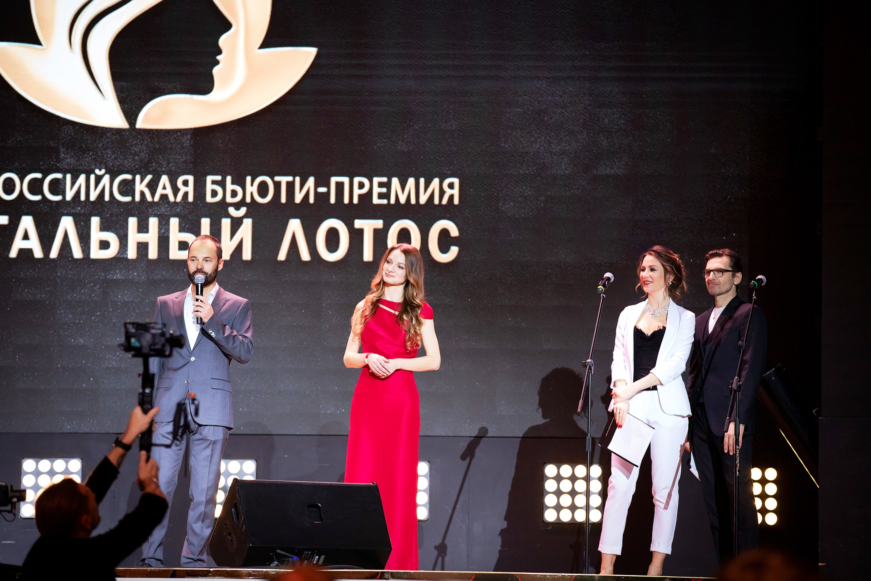 Прошла ежегодная бьюти-премия «Хрустальный Лотос»