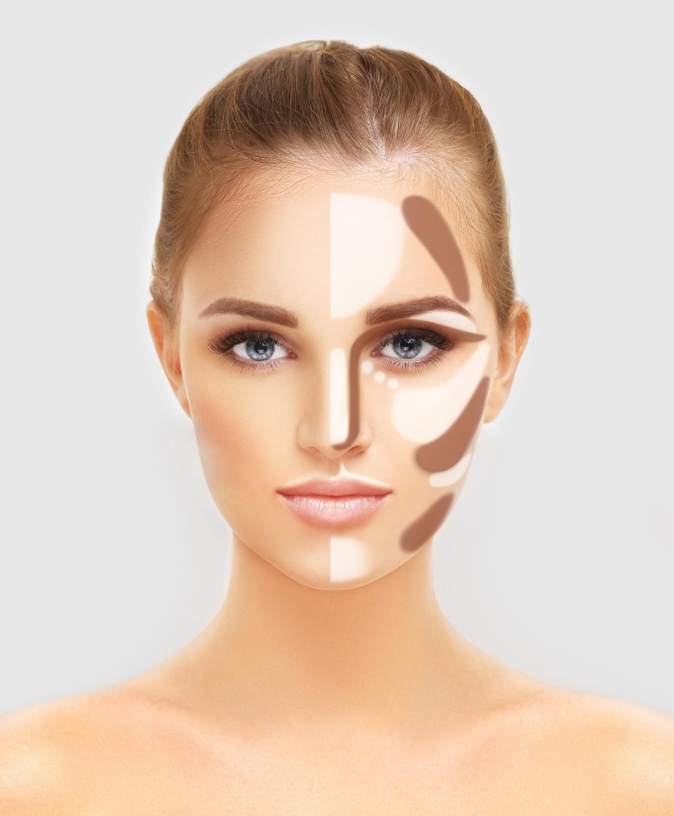 Коррекция недостатков лица с помощью макияжа: 4 базовых правила