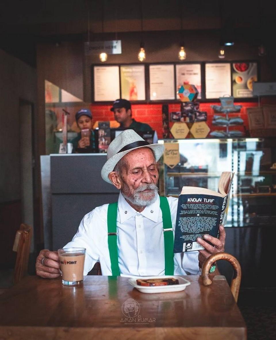 98-летний дедушка-хипстер стал кумиром подростков