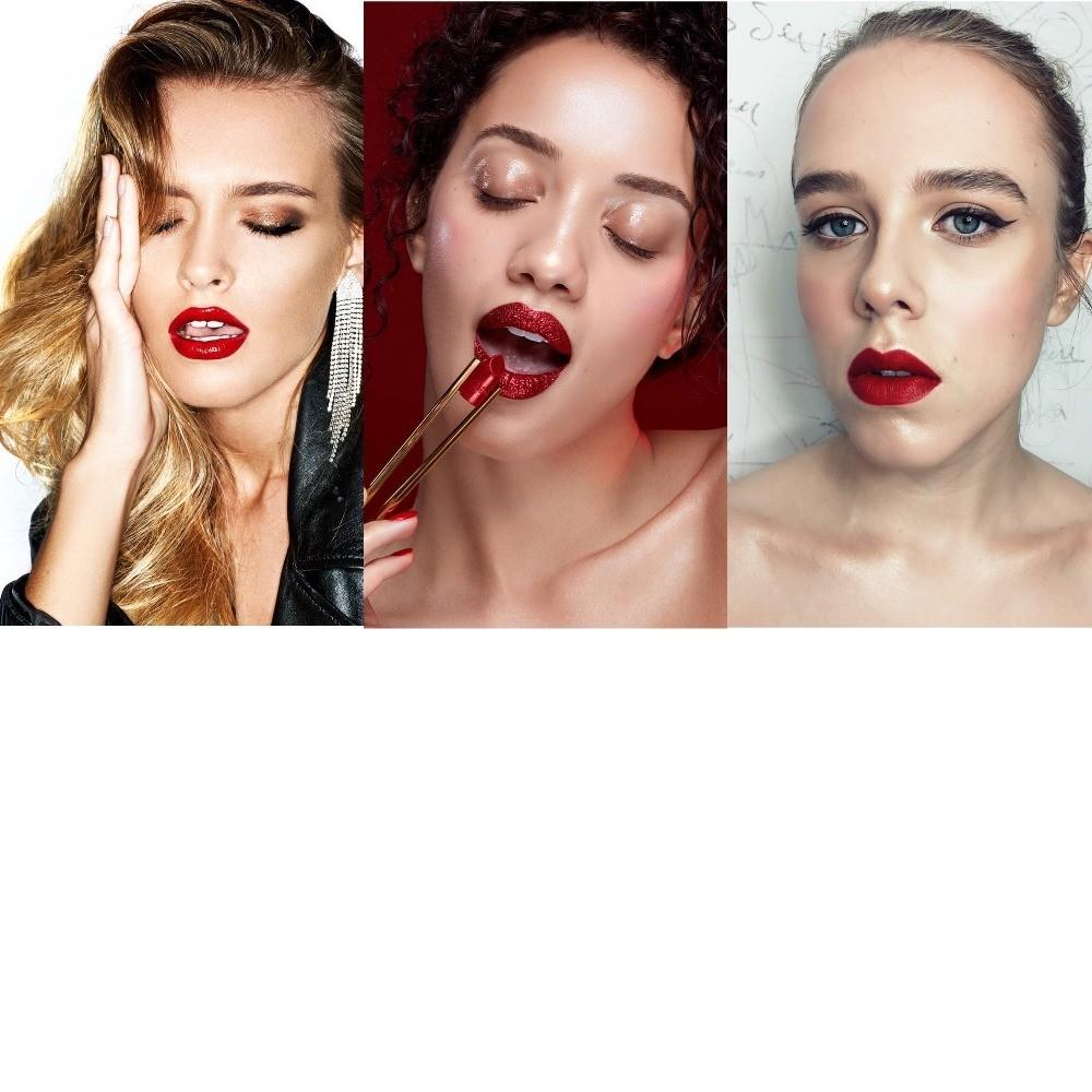 Красные губы: 6 способов разнообразить главный макияж зимы