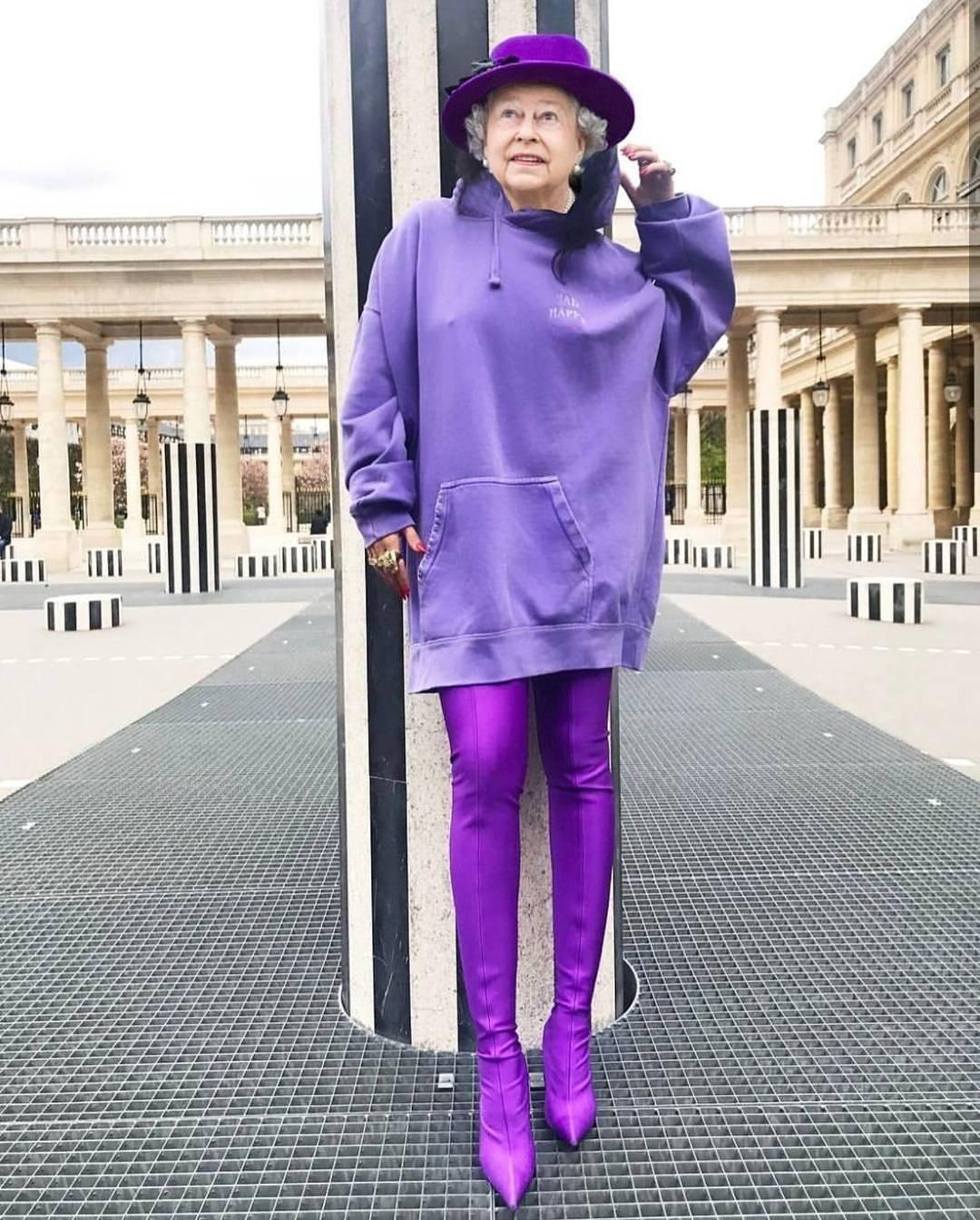 Британская королева всегда выглядит безупречно. Мы привыкли видеть ее внарядах, которые вряд ли соответствуют последнему слову моды, зато явно вписываются вкоролевский дресс-код. А что,...