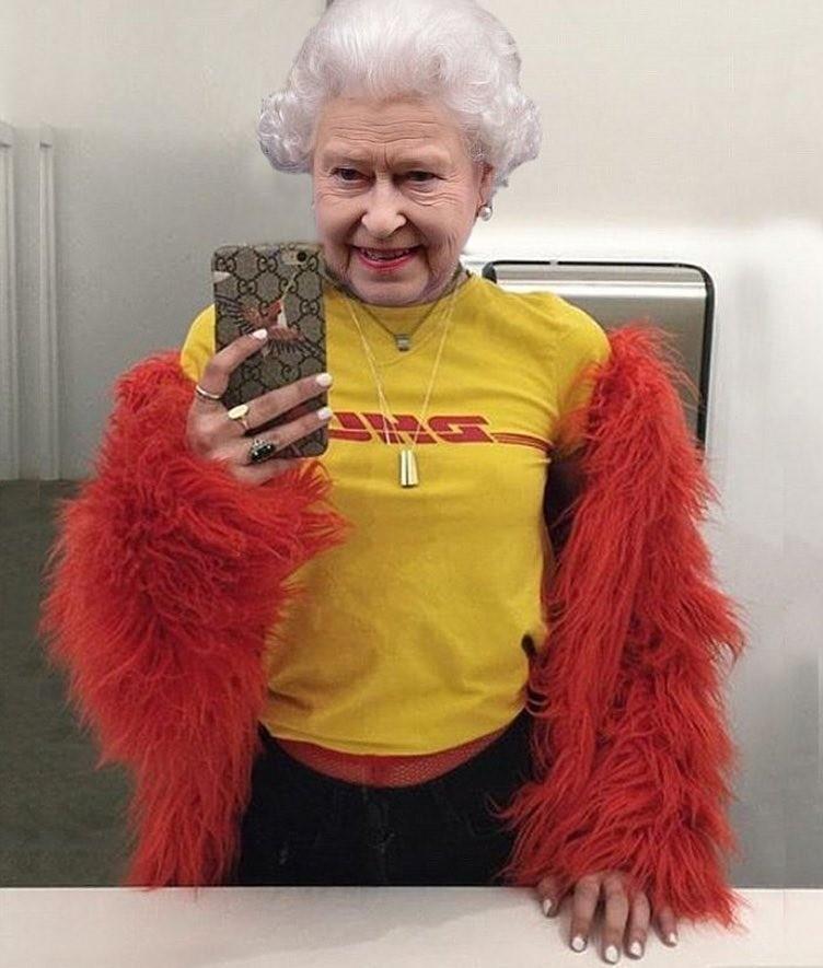Художник переодевает Елизавету II, Меланию Трамп и Барака Обаму в молодежную одежду при помощи фотошопа