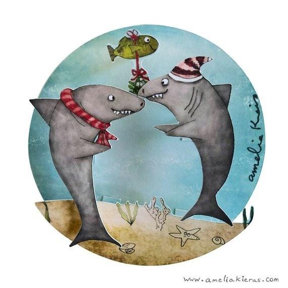 Нормальный презент для человека, который увлекается подводным миром и творчеством современных иллюстраторов. В остальных случаях твоему подарку будут весьма удивлен, потому что игрушки с...
