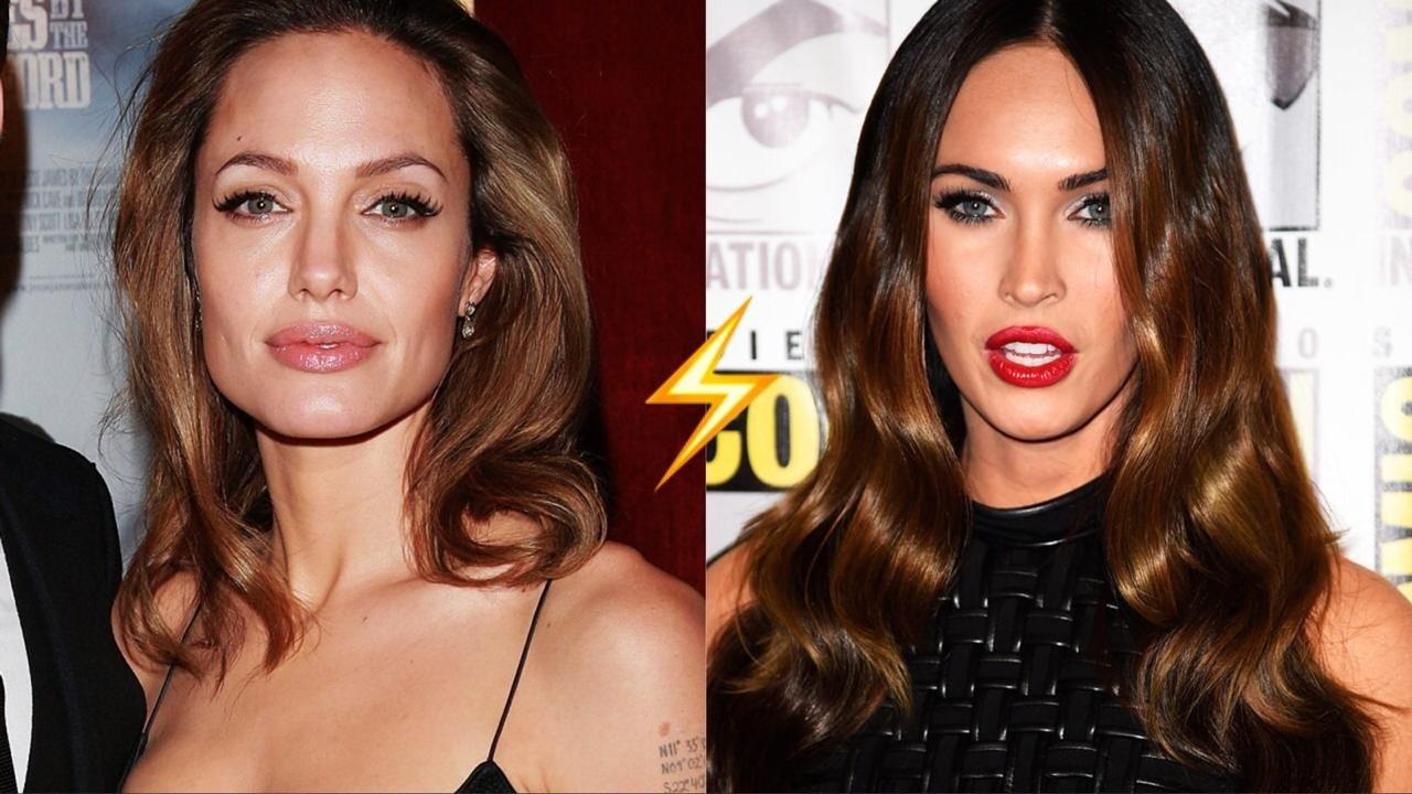 Норвежский художник скрестил фото Анджелины Джоли и Меган Фокс, чтобы создать портрет идеальной женщины