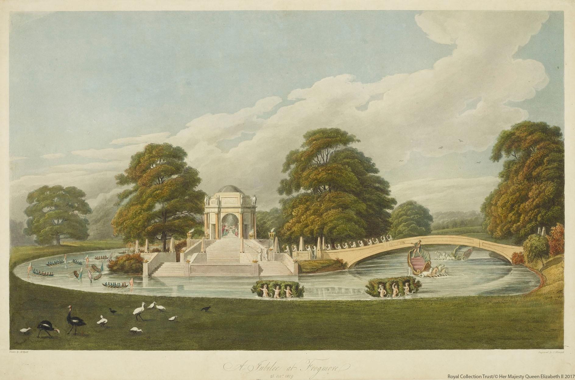 Фрогмор-Хаус в 1809 году