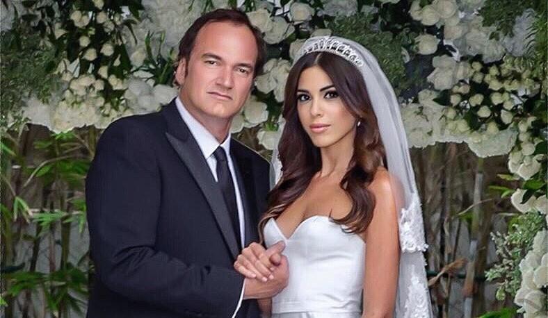 55-летний Квентин Тарантино женился на девушке, гораздо младше себя