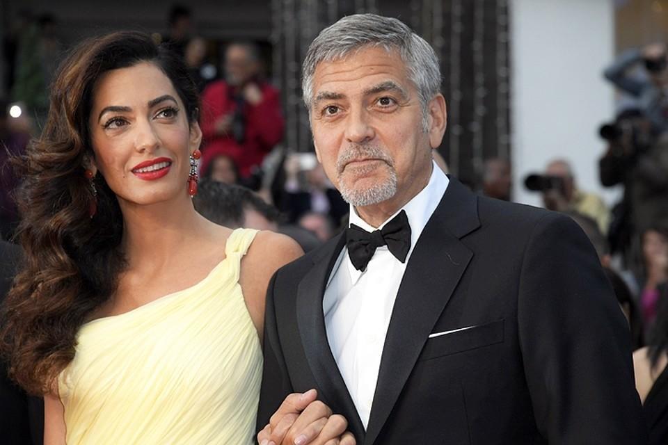 Джордж и Амаль Клуни станут крестными родителями для ребенка Меган Маркл и принца Гарри
