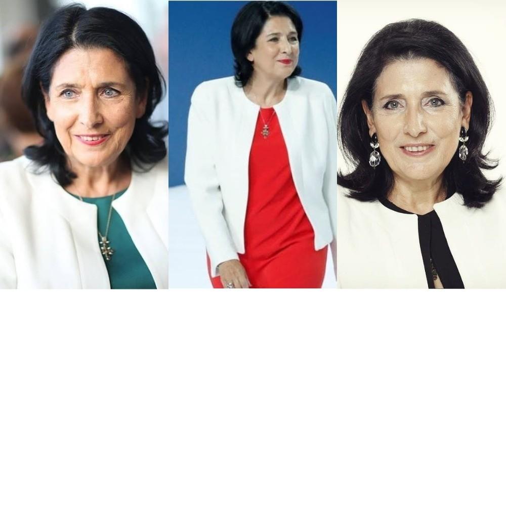 Госпожа президент: почему стиль Саломе Зурабишвили так хорош
