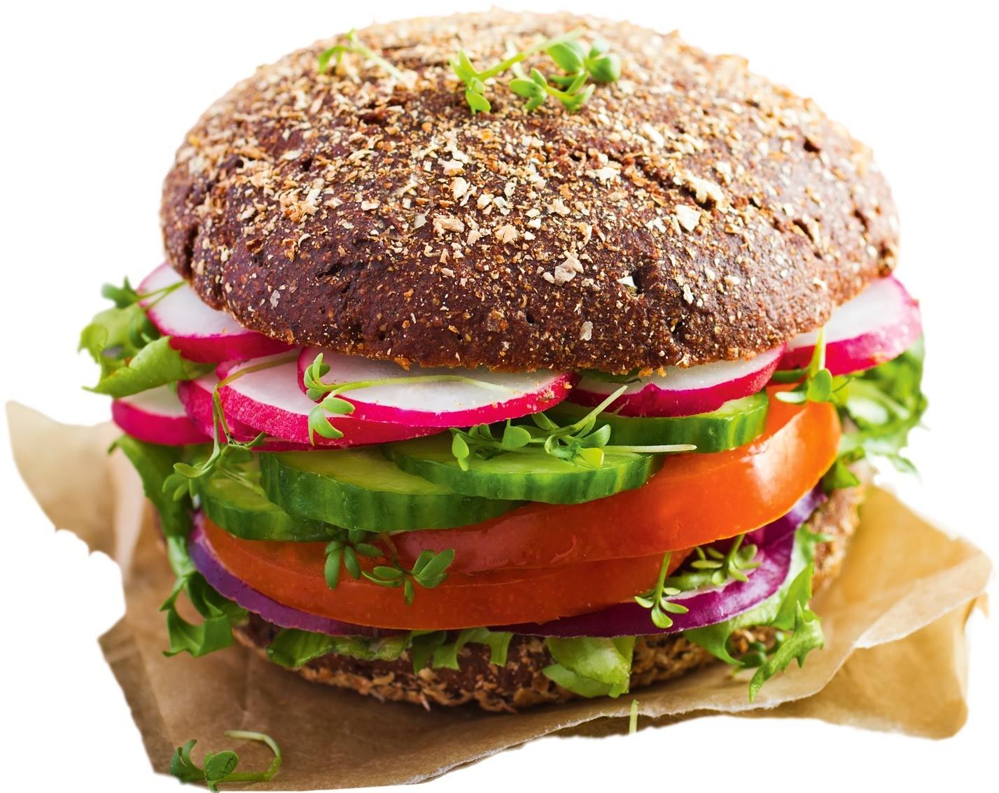 Во многих кафе быстрого питания стали делать бургеры на булочках из цельнозерновой муки. Еще одна полезная тенденция – отказ от жирных сортов мяса и покупных соусов и замена мясных котлет...