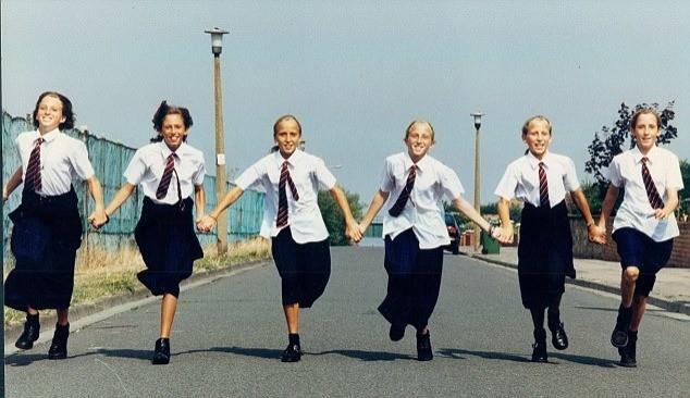 Единственные в мире девочки-шестерняшки и как сложилась их судьба спустя 35 лет