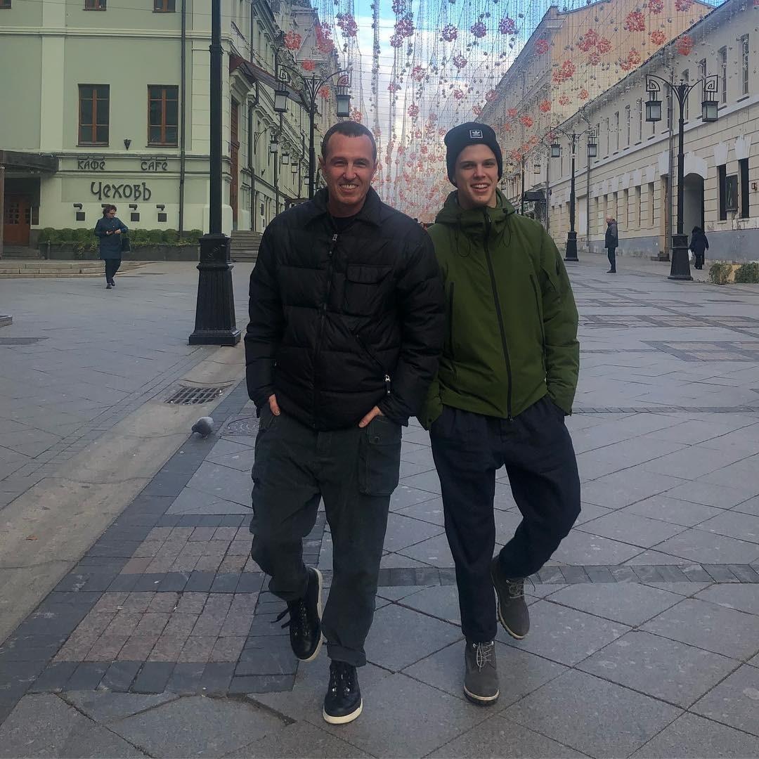 Игорь Верник с сыном Григорием