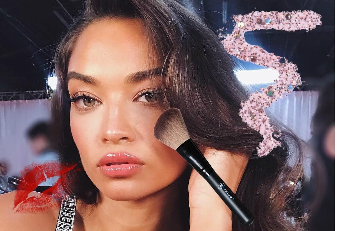 Сияющая кожа и нежный румянец : повторяем макияж ангелов Victoria's secret бюджетной косметикой