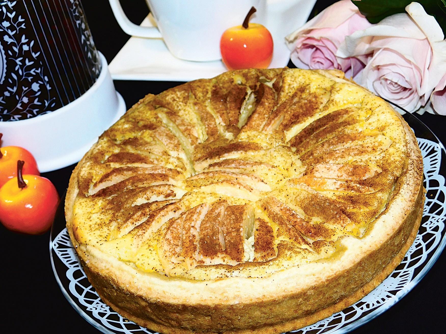 Яблочный пирог по-баварски