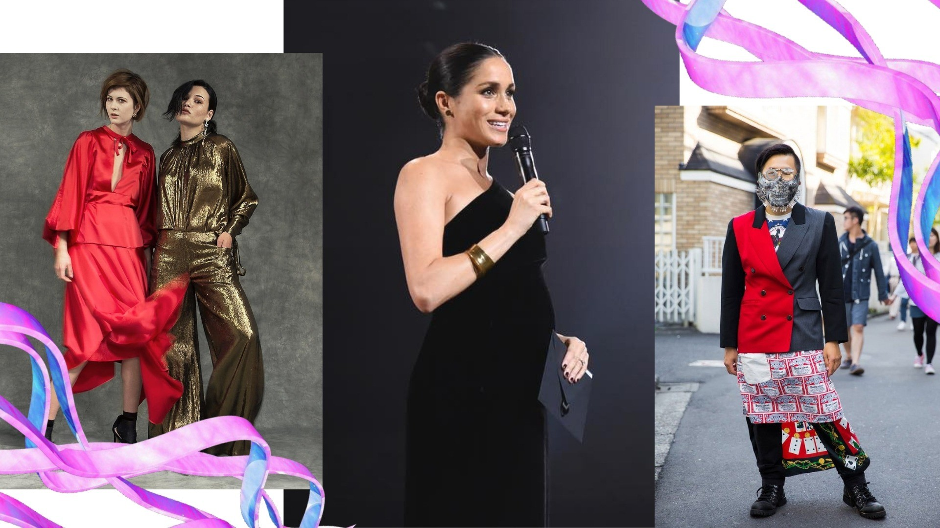 От 80-х до Меган Маркл и стиля харадзюку: топ модных трендов этого года