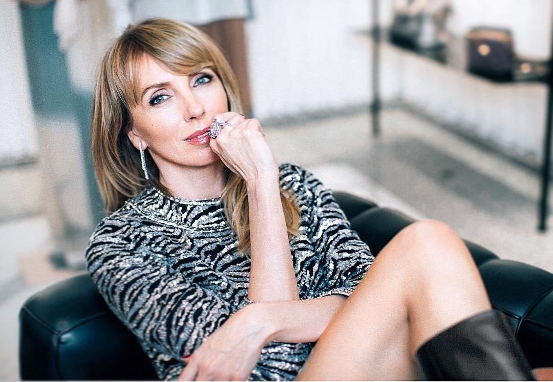 50-летняя Светлана Бондарчук продемонстрировала фигуру в полупрозрачном платье