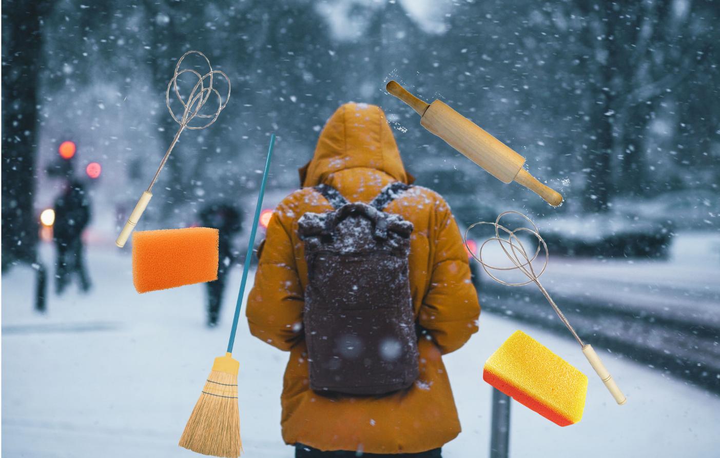 Как привести пуховик в порядок после стирки: выбивалка для ковров, скалка и пылесос