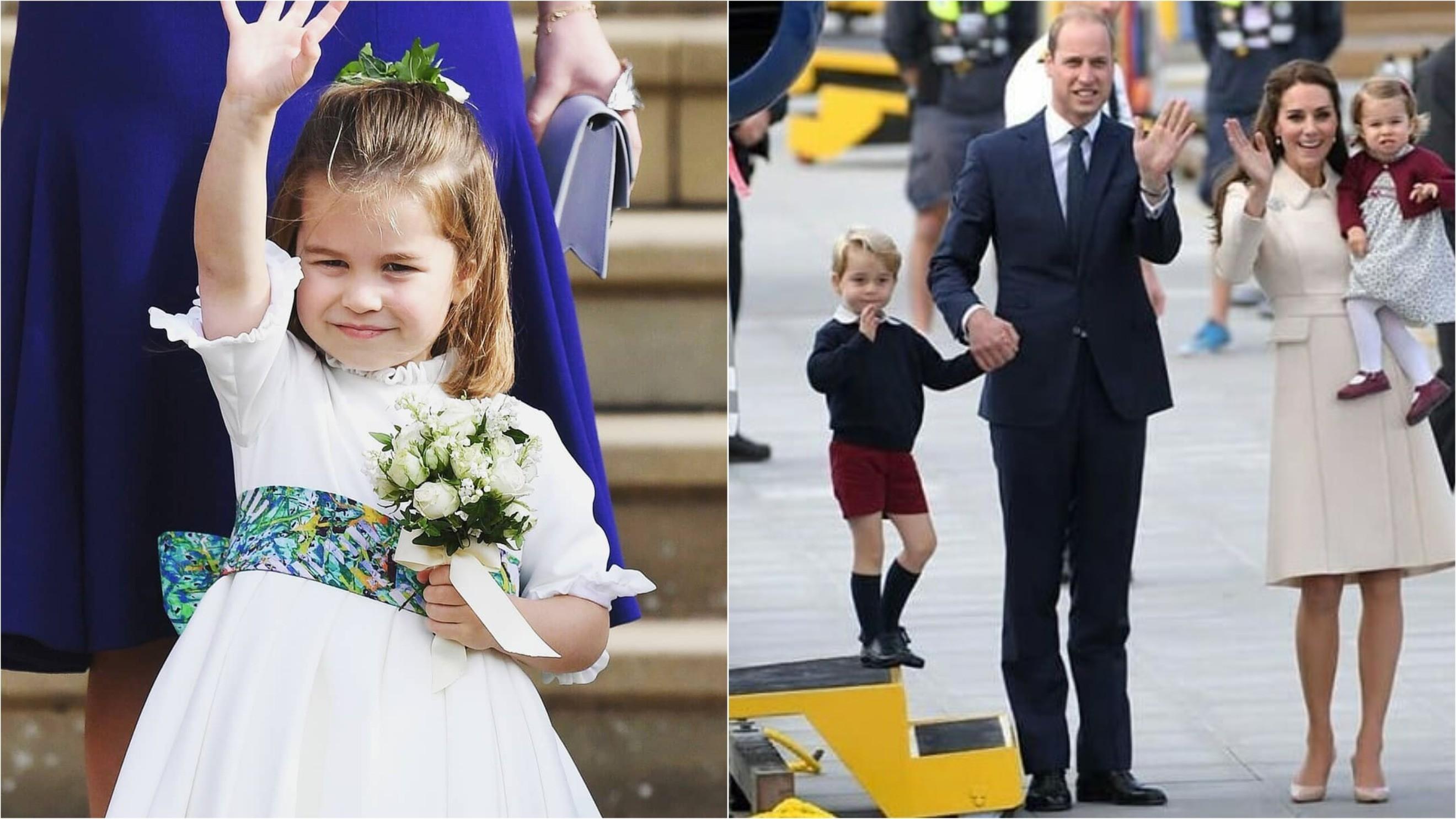 Дочь Кейт Миддлтон и принца Уильяма занялась балетом