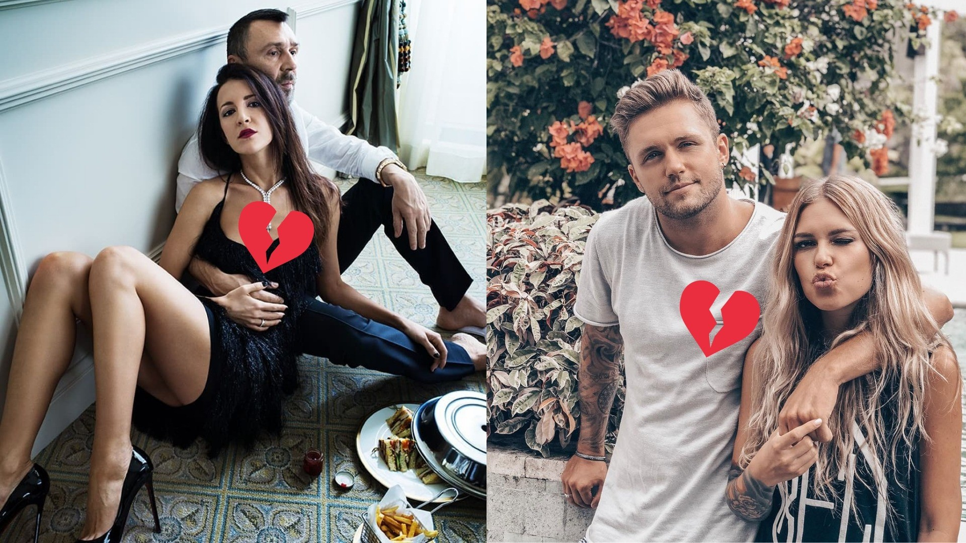 5 самых неожиданных разводов 2018 года среди пар российского шоу-бизнеса