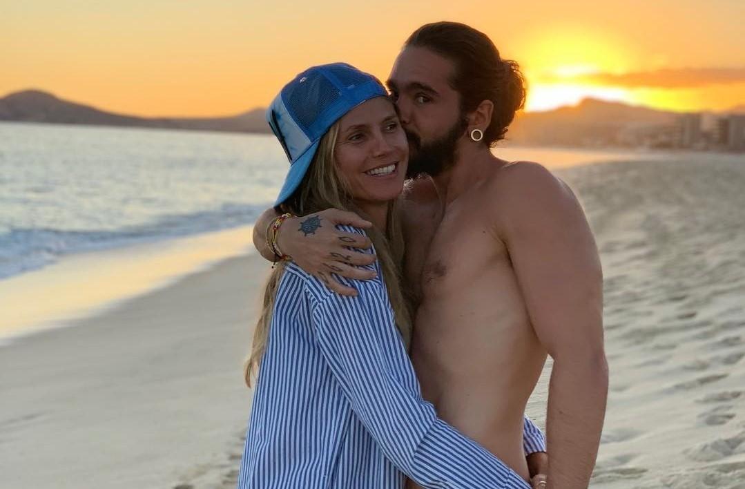45-летняя Хайди Клум выходит замуж за молодого гитариста