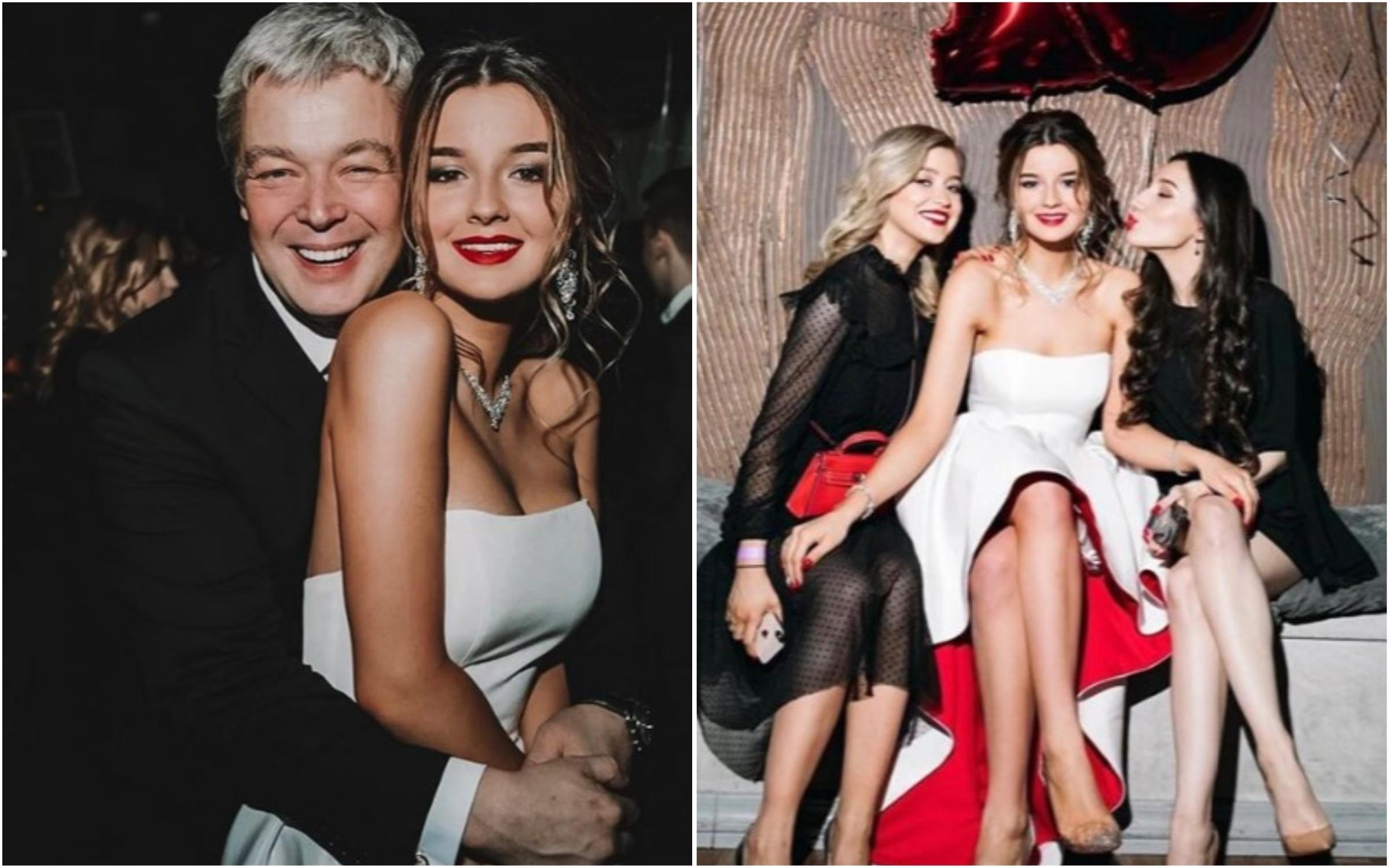 Александра Стриженова встретила 18-летие в платье как у невесты