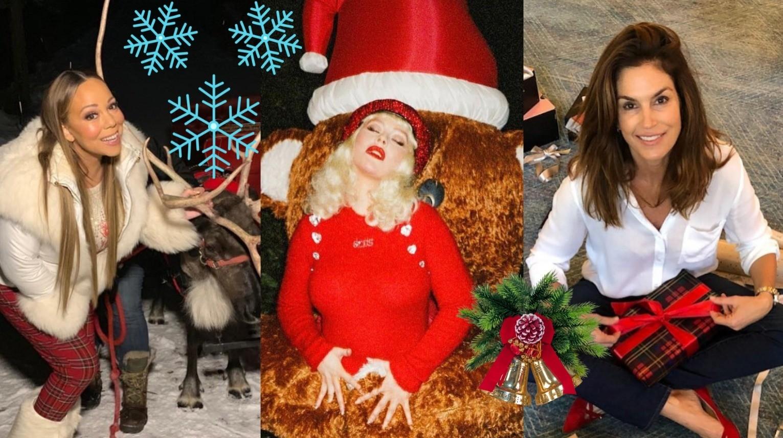 Как знаменитости встретили Рождество: самые яркие фото из Instagram
