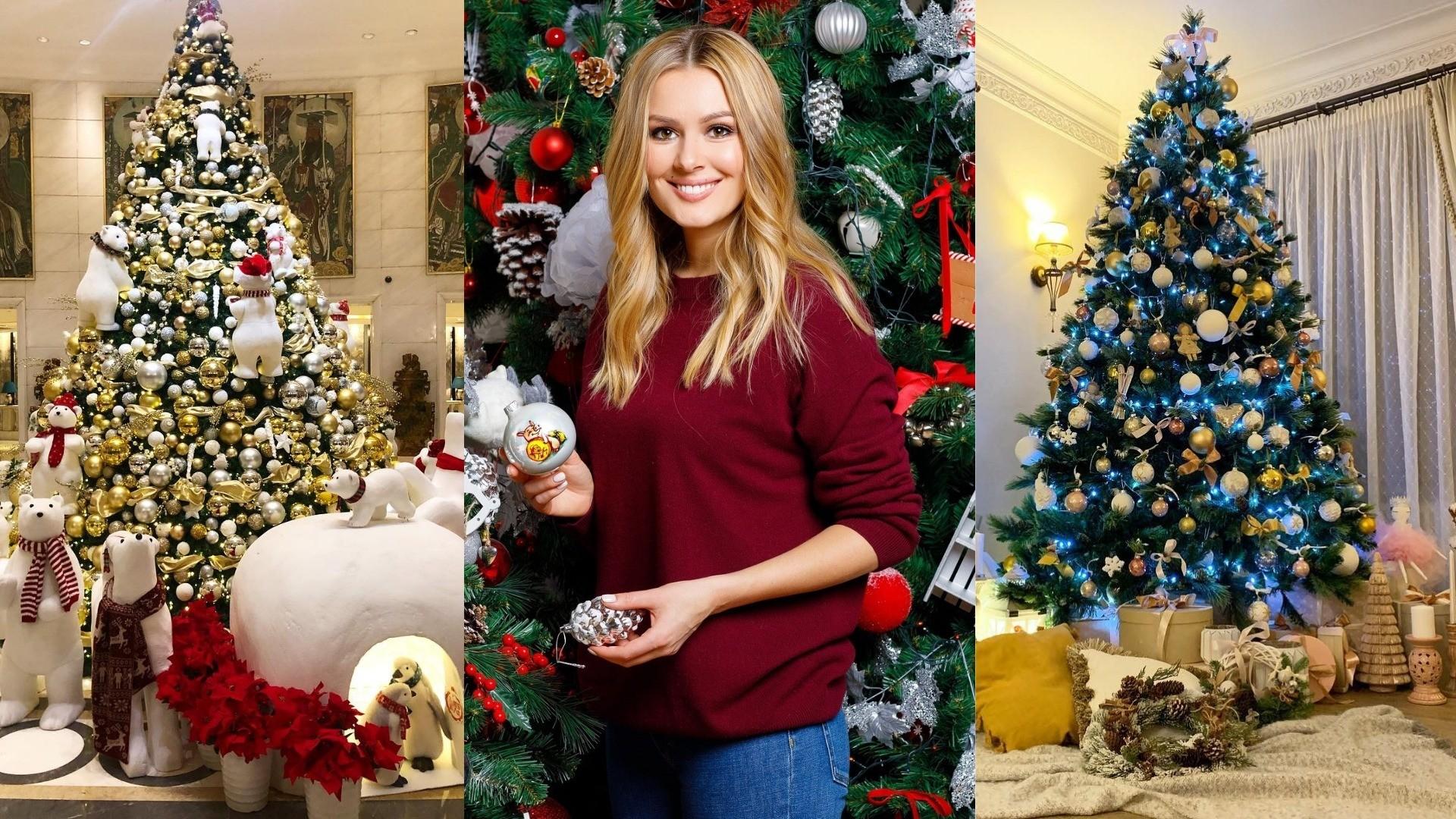 «Елочка, гори!»: как звезды украсили свои елки к Новому году?