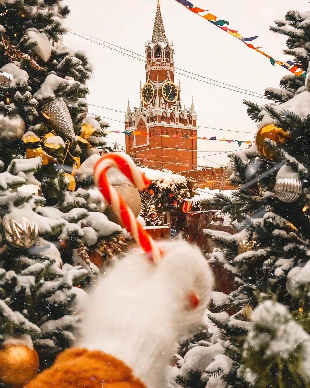 7 сияющих новогодних городов в Instagram: от Москвы до Владивостока