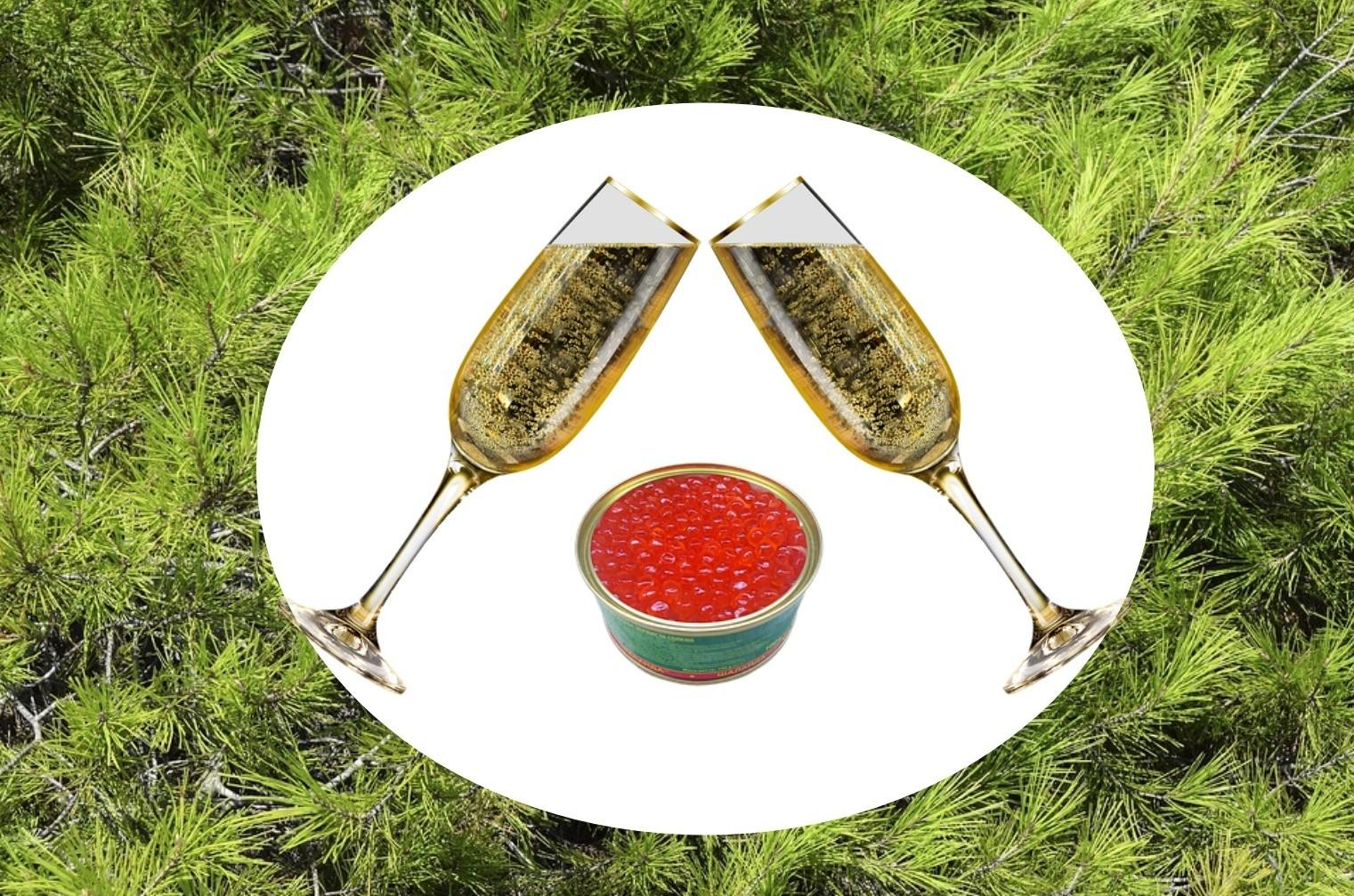 Выбираем шампанское и красную икру к Новому году: советы экспертов