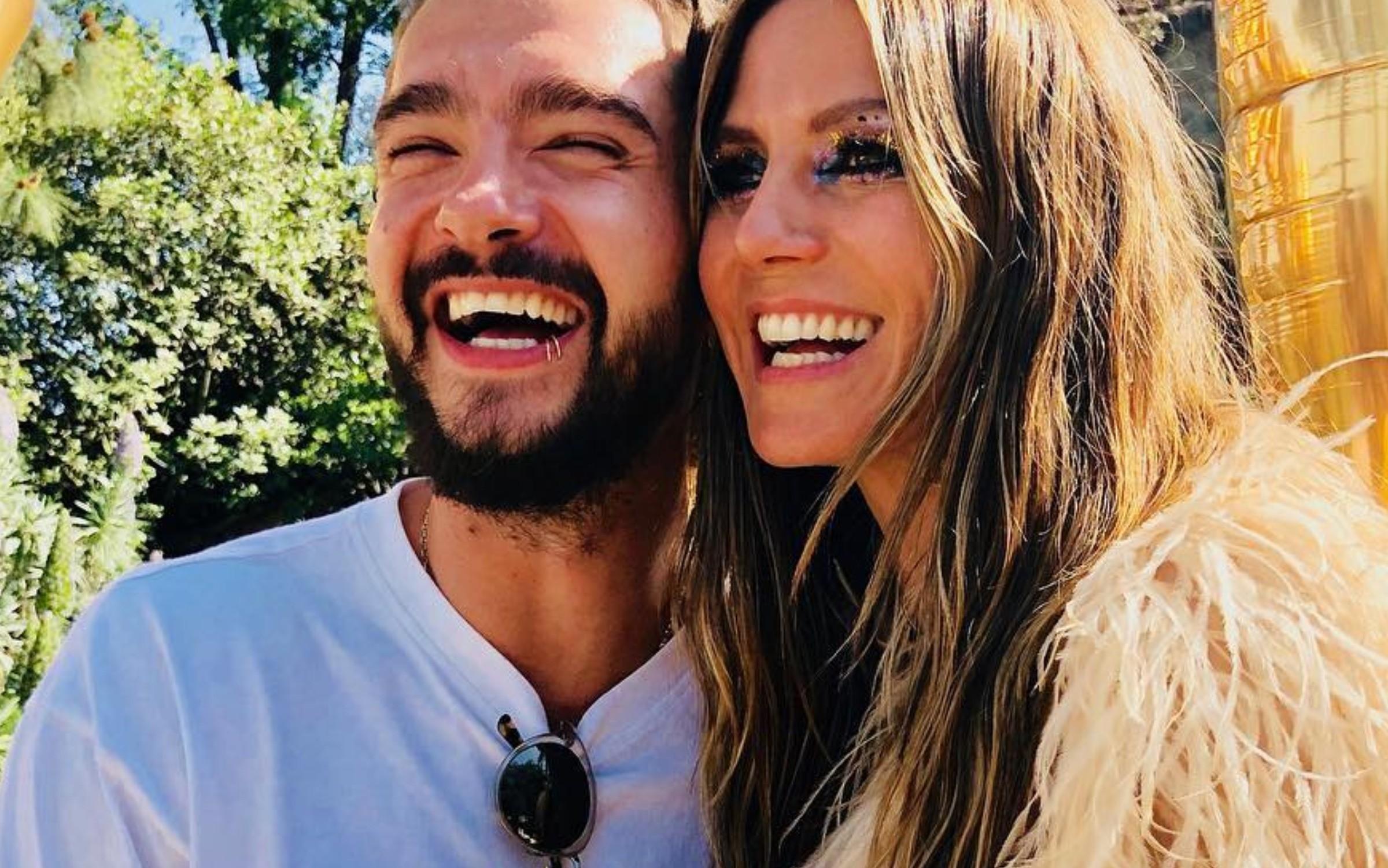 Хайди Клум опубликовала нежное фото с женихом после помолвки