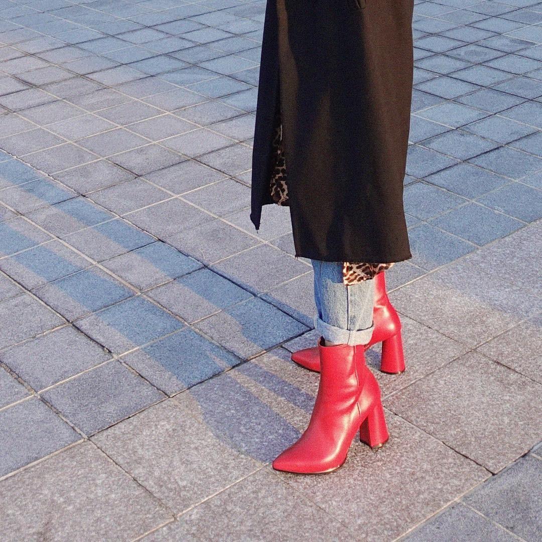 Как носить подвернутые джинсы зимой: 2 простых и безопасных способа