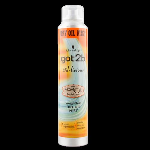 Спрей-уход для укладки волос `GOT2B` с маслом арганы