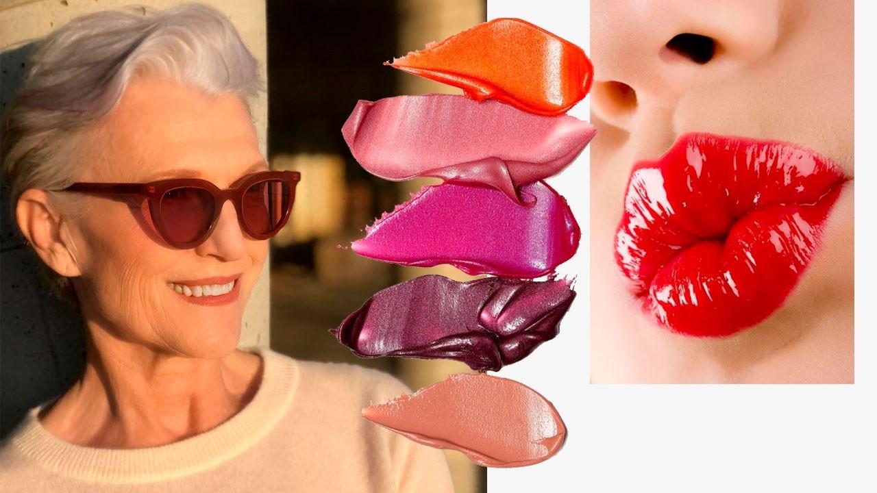 Нежные цвета и сияющие текстуры: макияж губ, который сделает тебя моложе