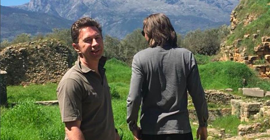 Дмитрий Маликов и Валерий Сюткин уехали на «мальчишник» в Грецию