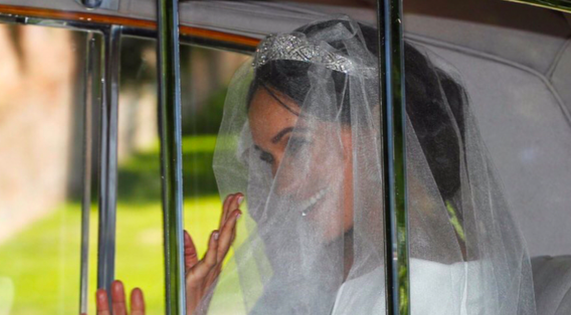 Первые фото свадебного платья Меган Маркл
