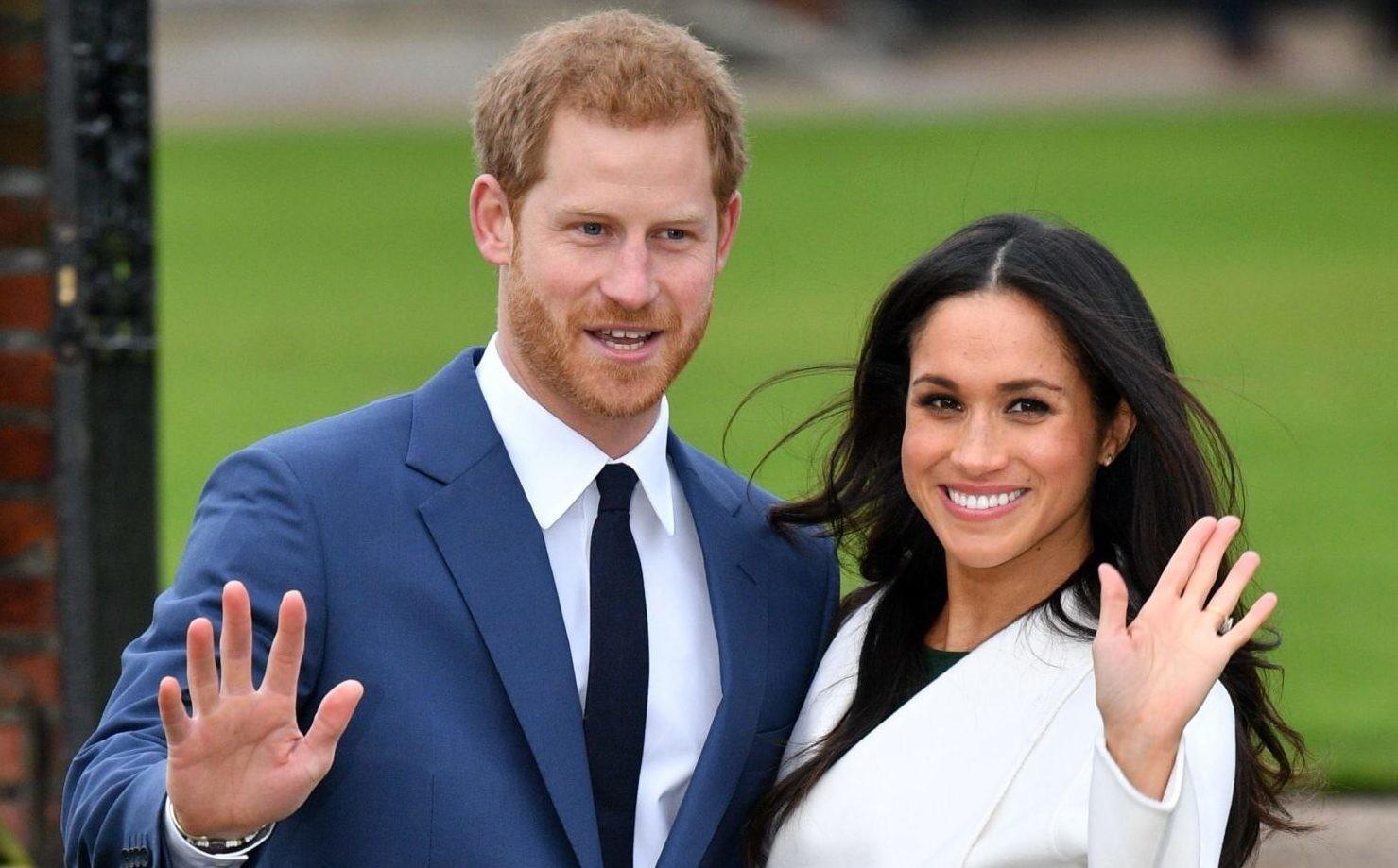 Прямая трансляция свадьбы принца Гарри и Меган Маркл!