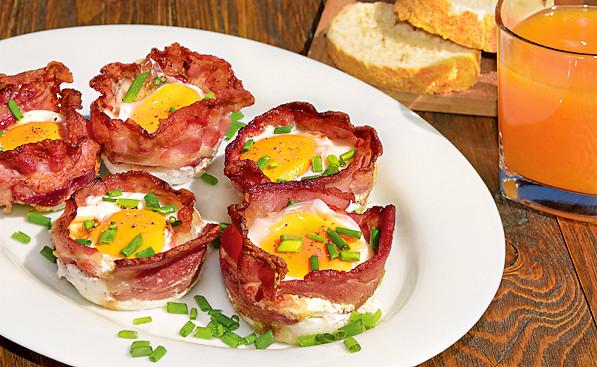 4 оригинальных рецепта для завтрака