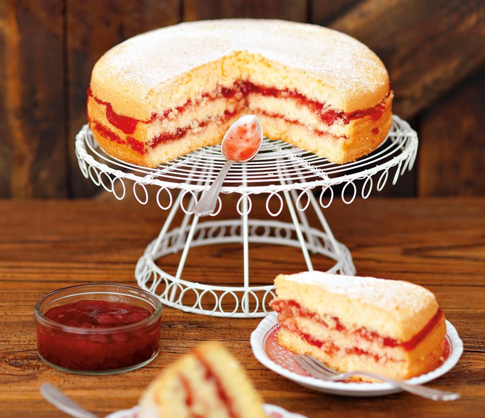 Тортик-сендвич с джемом