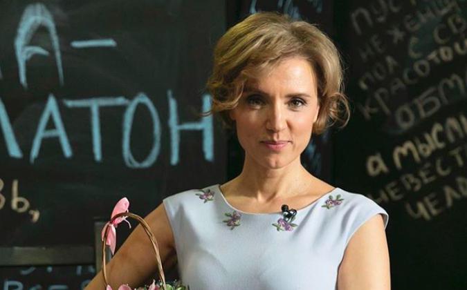 Ксения Алферова показала, как носить бикини с принтом, чтобы оно стройнило