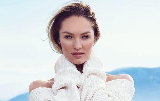 Ангел Victoria`s Secret Кэндис Свейнпол показала первое фото с новорожденным сыном