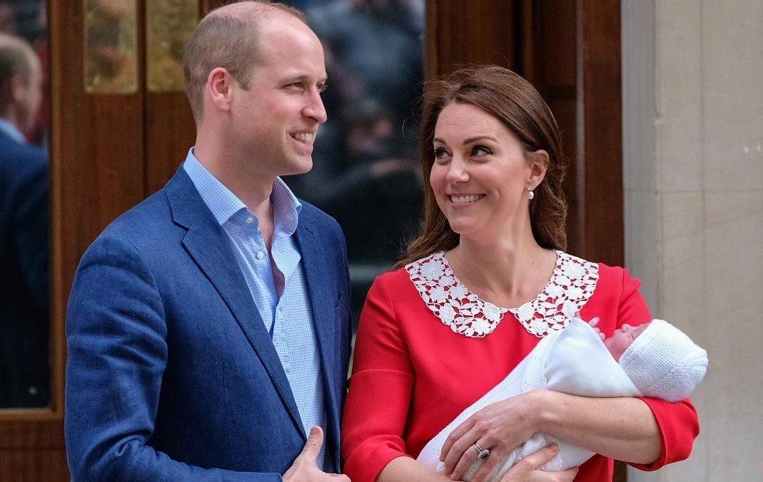 Принц Уильям и Кейт Миддлтон рассекретили, когда и где пройдут крестины принца Луи