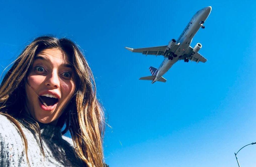 В чем лететь в самолете? 6 модных идей российских звезд